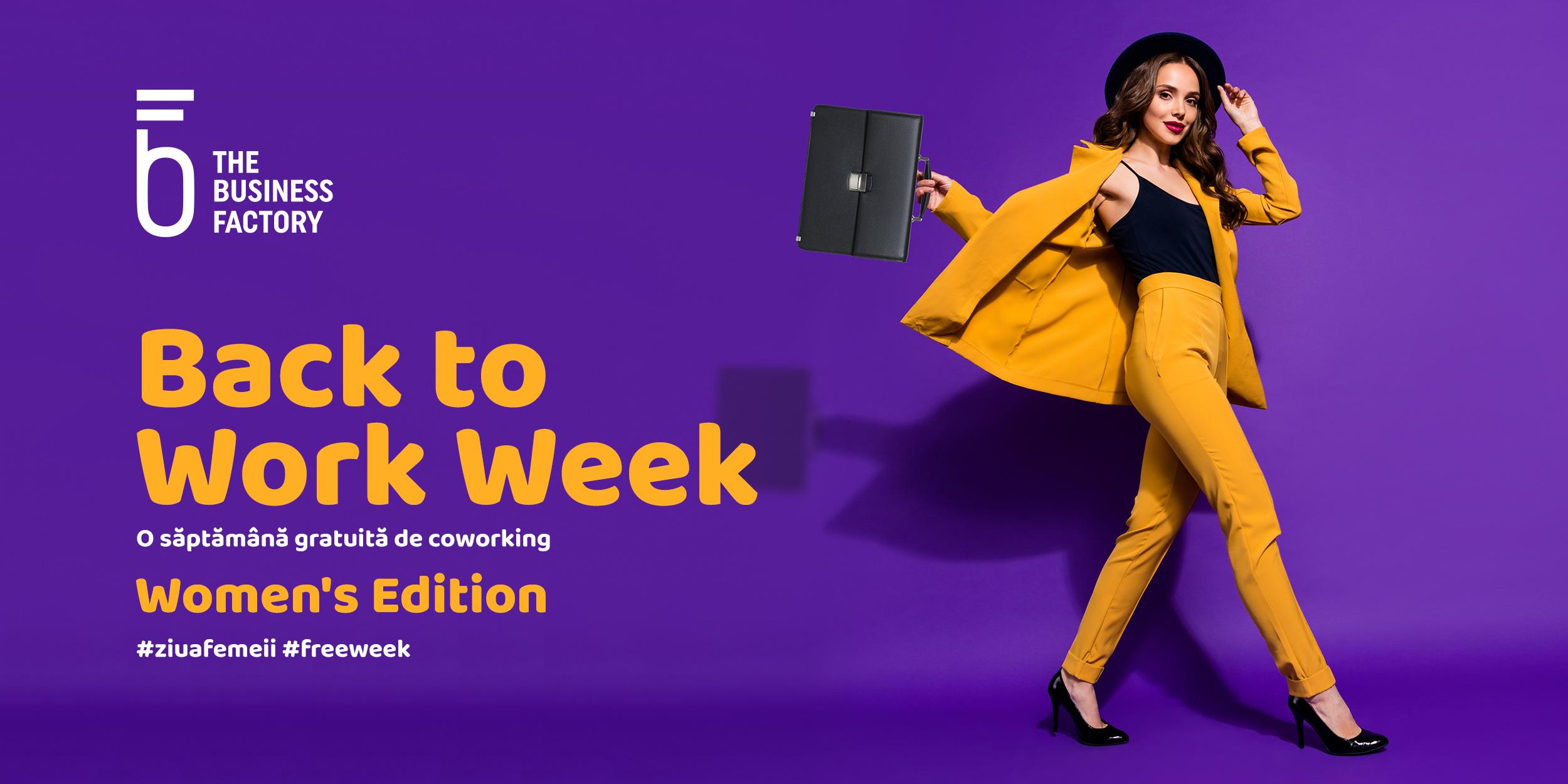 Câștigă o săptămână gratuită într-un birou de la The Business Factory!